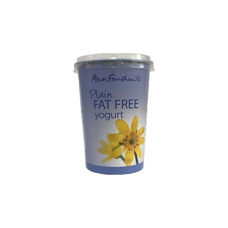 Anne Forshaws Plain Yoghurt 450g Jpg