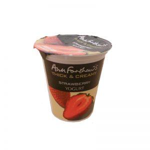 Ann Forshaw Thick & Creamy Fruit Yoghurt x125g