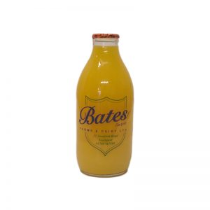 Glass Bottle Orange Juice 1 Pint