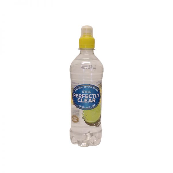 Perfectly Clear Lemon Lime Drink
