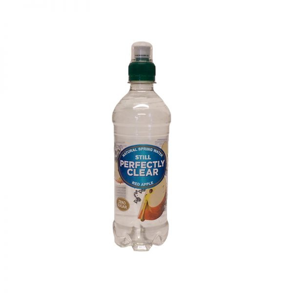 Perfectly Clear Red Apple Drink