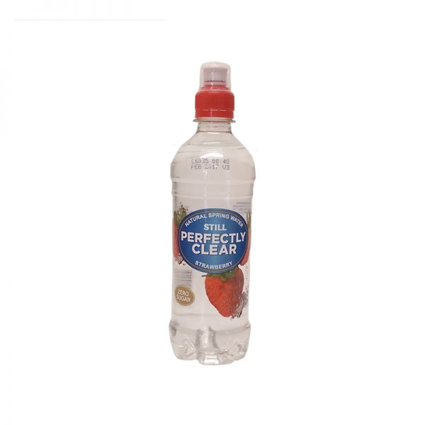 Perfectly Clear Strawberry Drink