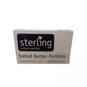 Butter portions 1×100